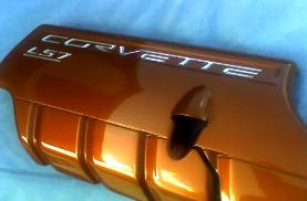 Corvette C6 Painted Fuel Rail Covers Ls7