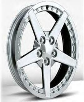 Corvette C6 Chrome Motorsport Wheels